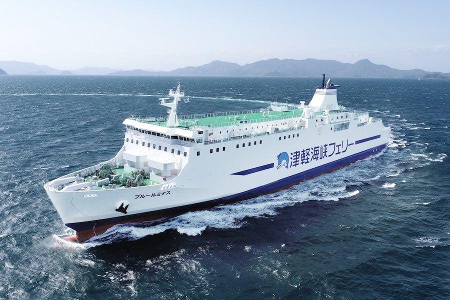 津軽海峡フェリー ブルールミナス