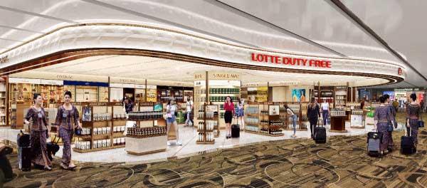 ロッテ免税店(チャンギ国際空港)