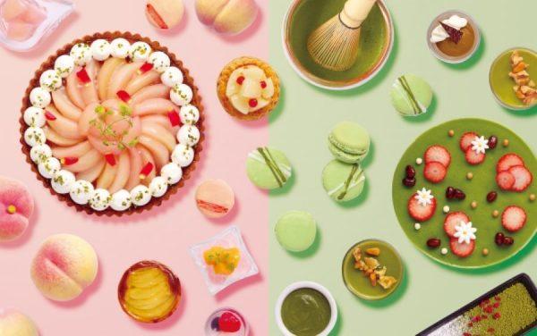オリエンタルホテル広島、「サマーデザートブッフェ2020 -桃&抹茶-」を開催