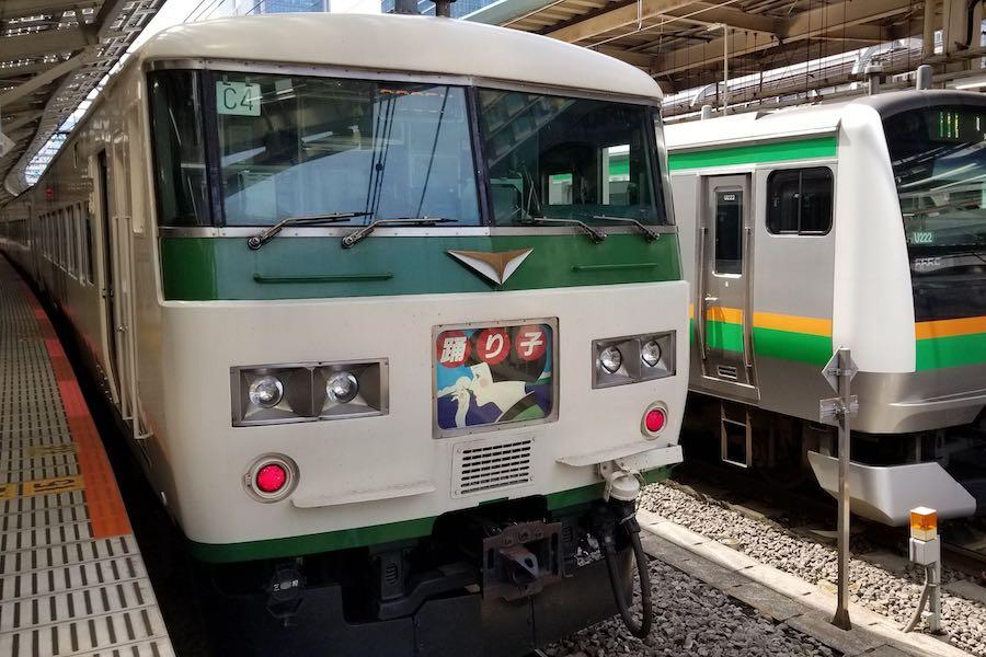 首都圏最後の国鉄型特急車両 185系、定期運用終了へ - TRAICY ...