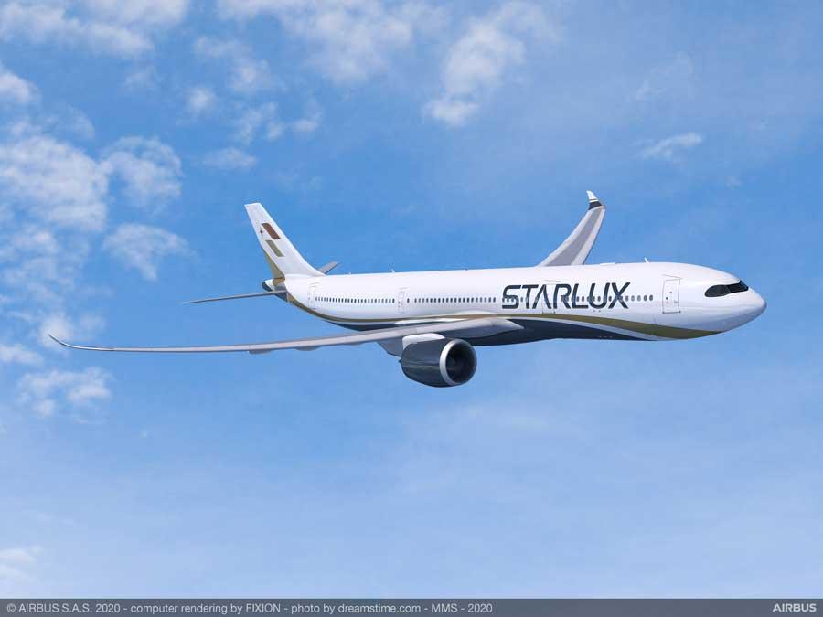 スターラックス航空(エアバスA330-900neo)