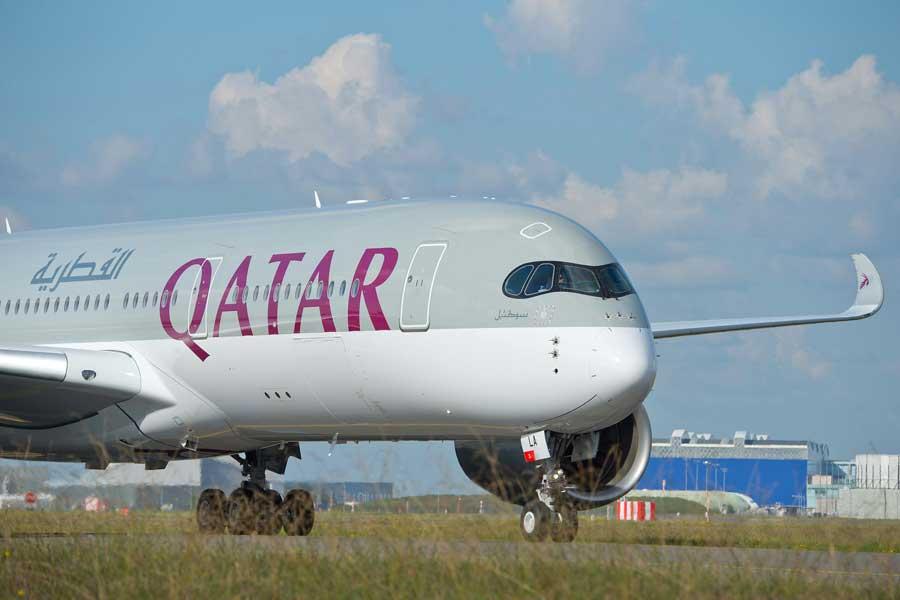 カタール航空(エアバスA350-900型機)