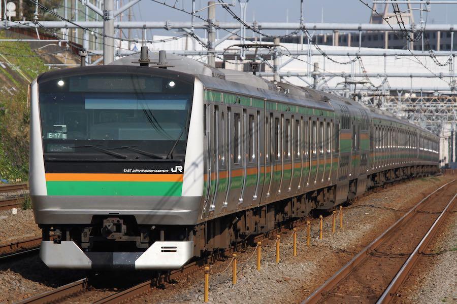 JR東日本 東海道線 E233系