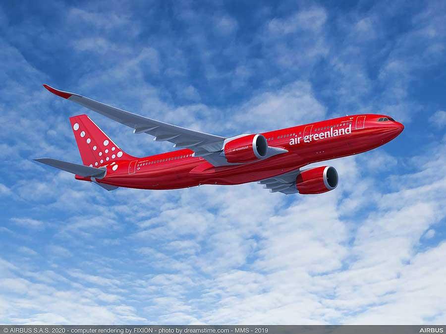 グリーンランド航空(エアバスA330-800neo)