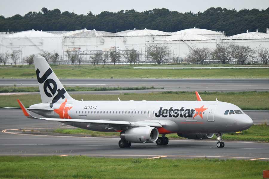 ジェットスター・ジャパン(エアバスA320型機、JA21JJ)
