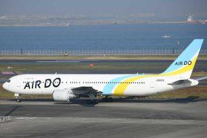 エア・ドゥ/AIRDO(ボーイング767-300ER型機、JA612A)