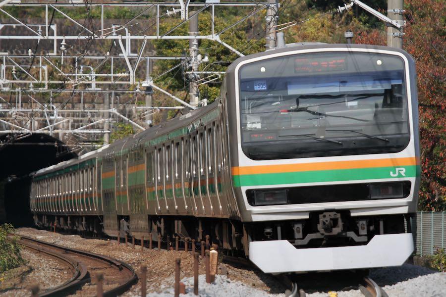 JR東日本 東海道線 E231系