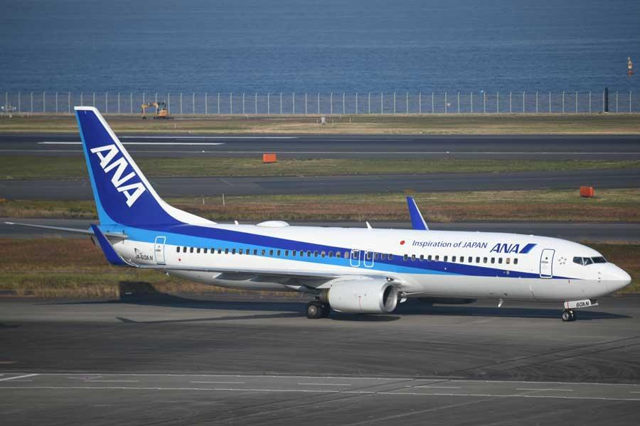 ANA(ボーイング737-800型機、JA60AN)