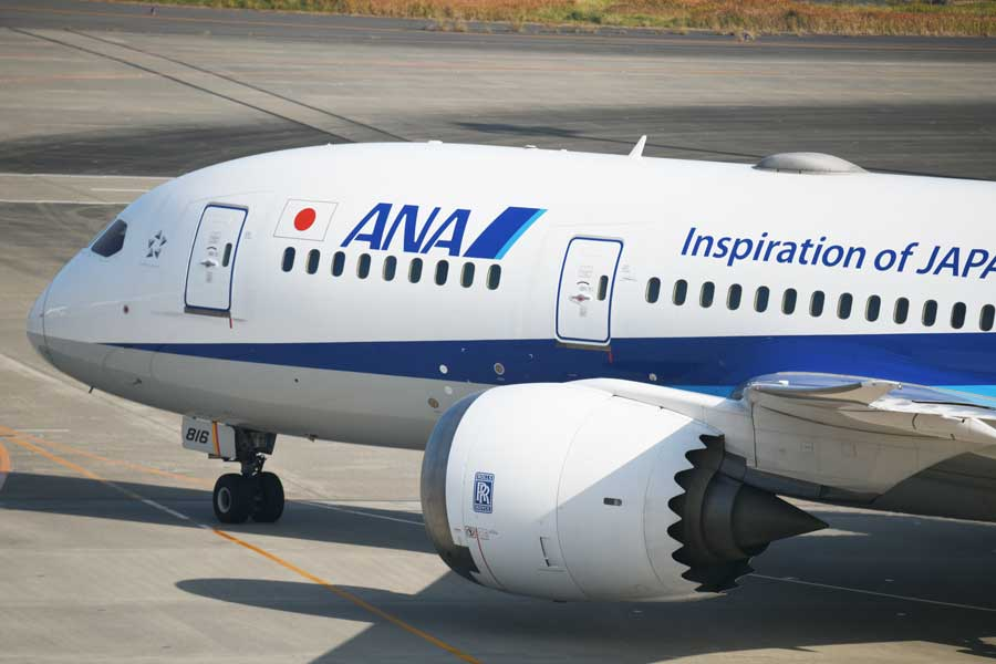 ANA(ボーイング787-8型機、JA816A)