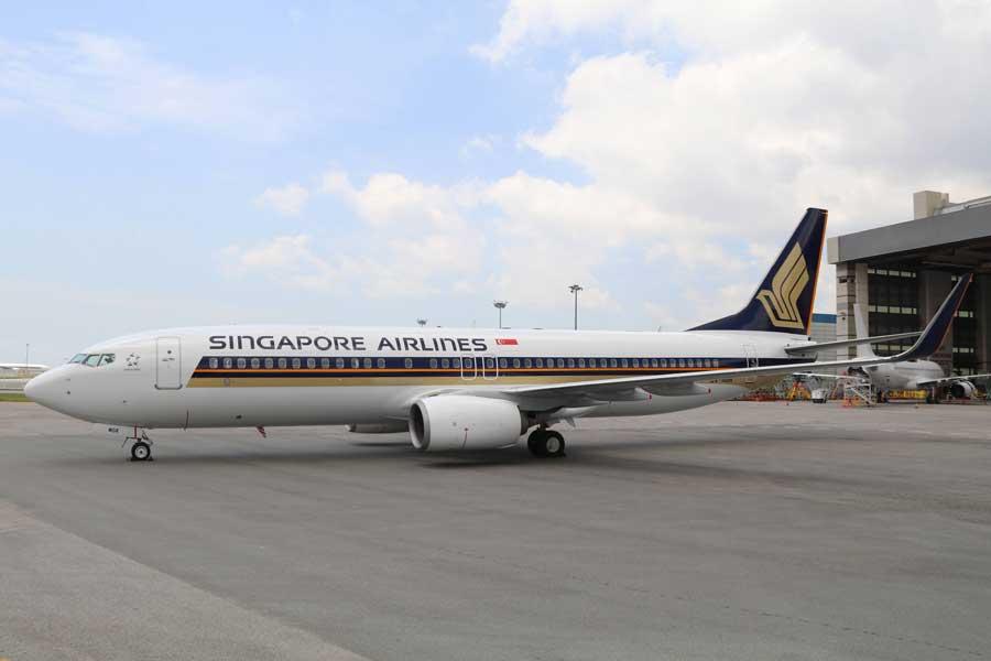 シンガポール航空(ボーイング737-800型機)