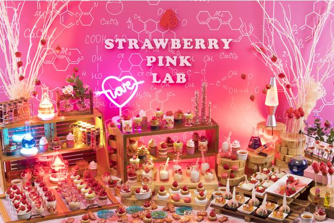 ストロベリーデザートビュッフェ~Pink Lab~