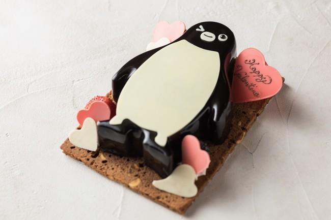 Suicaのペンギン バレンタインケーキ