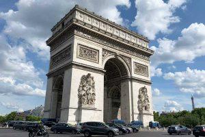 フランス・パリ・凱旋門