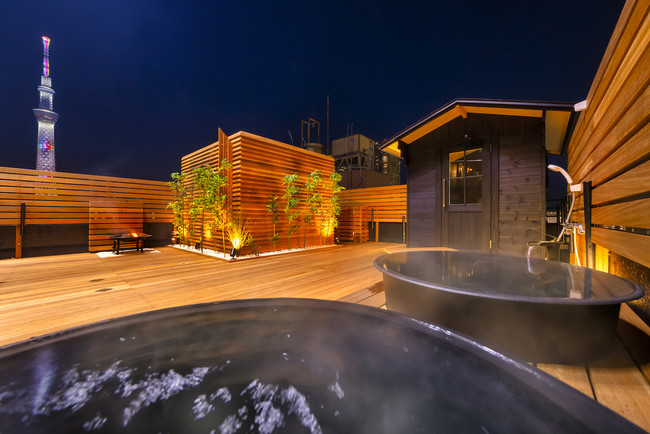 The錦糸町五右衛門風呂