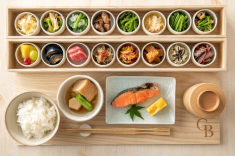 ホテルグランバッハ仙台朝食