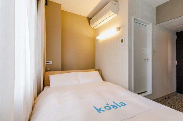 名古屋伏見モンブランホテル、コアラマットレスが体感できる「コアラ体感ルーム」を設置