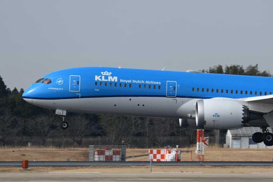 KLMオランダ航空(ボーイング787-9型機)