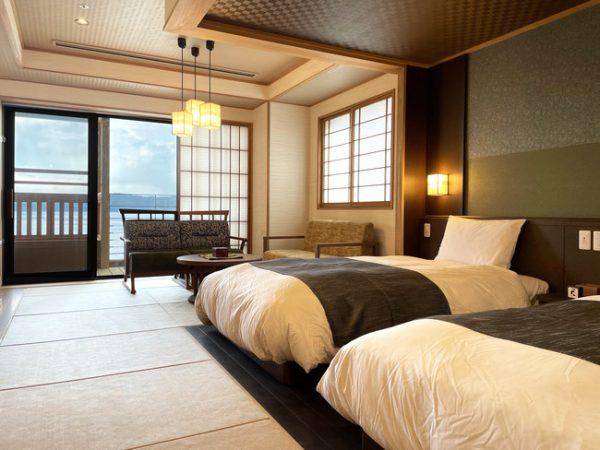 「和倉温泉 白鷺の湯 能登 海舟」、3月30日グランドオープン 共立リゾートは北陸初