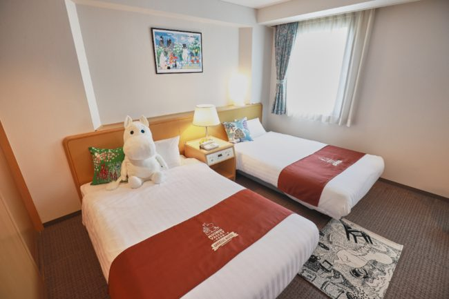 ムーミンバレーパークオフィシャルホテル
