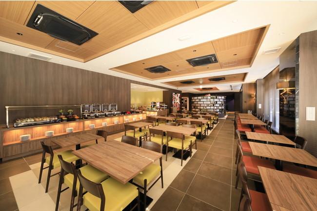 クインテッサホテル福岡天神 Comic & Booksレストラン