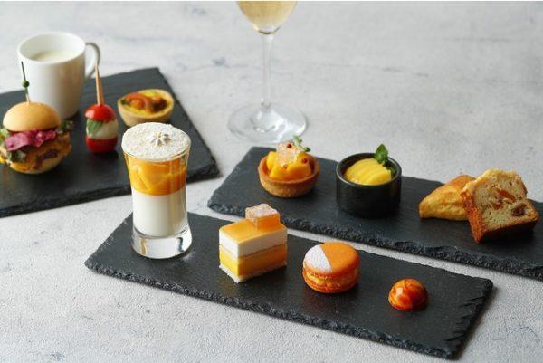 ホテル雅叙園東京、「マンゴーアフタヌーンティ」提供 旬のマンゴー2種を使用