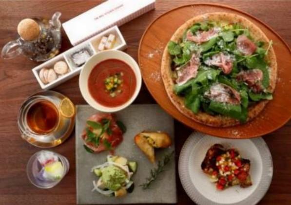 the rail kitchen chikugo 地域を味わうハーブの旅