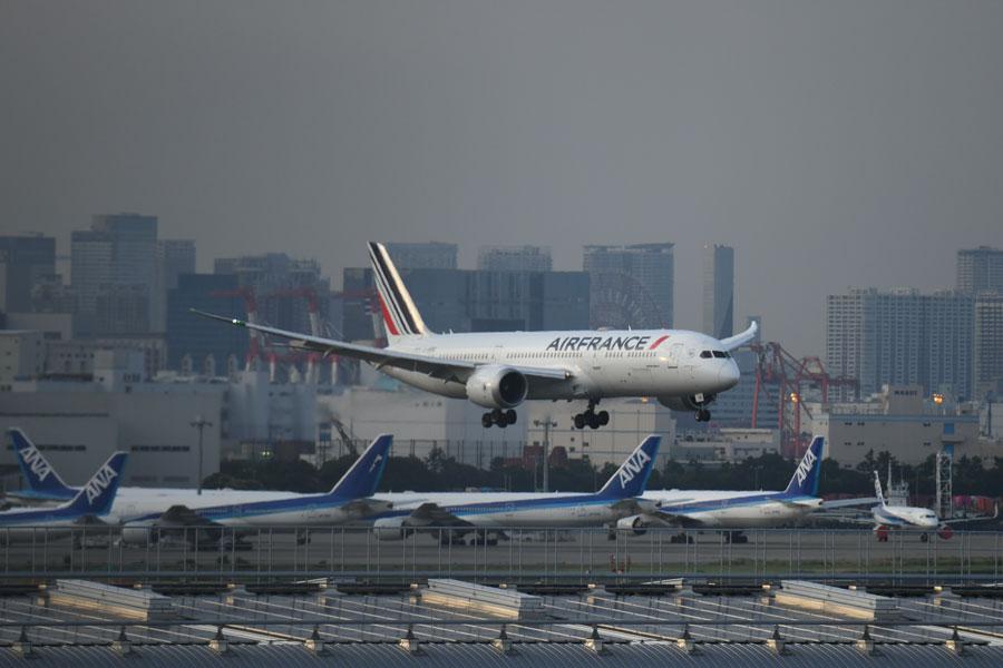 エールフランス航空(ボーイング787-9型機)