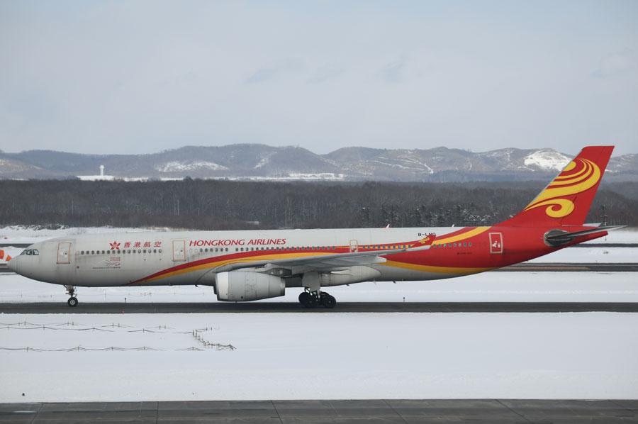香港航空(エアバスA330型機)