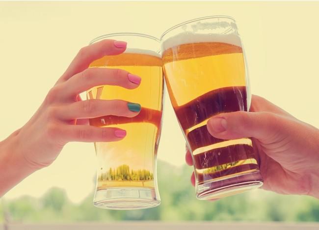ビアサーバーで乾杯!