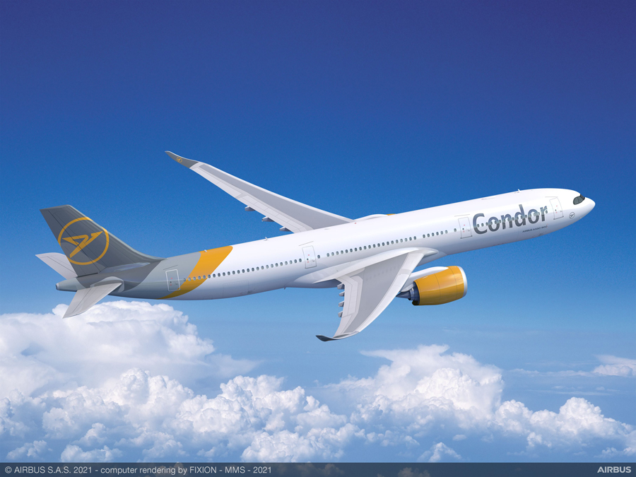 コンドル航空(エアバスA330-900neo)