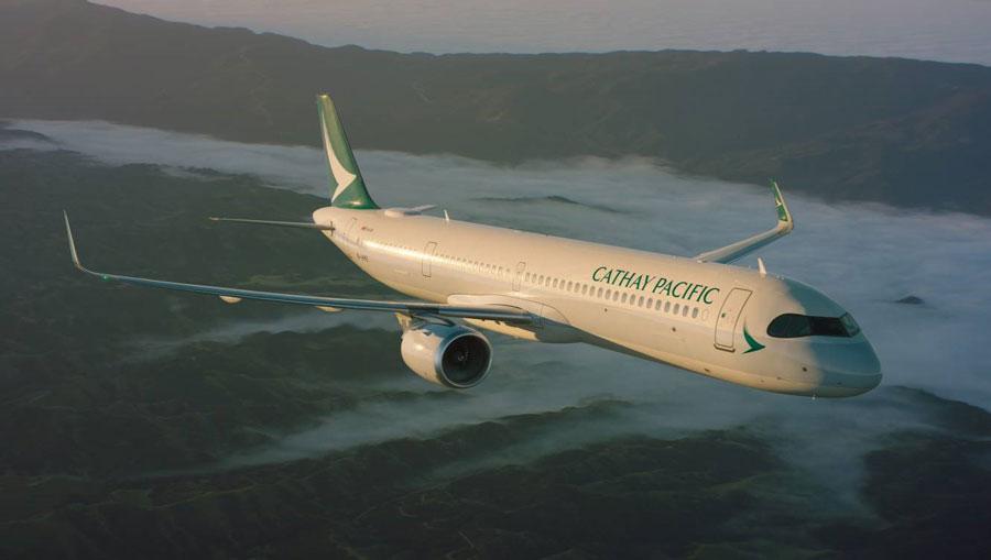 キャセイパシフィック航空(エアバスA321neo)