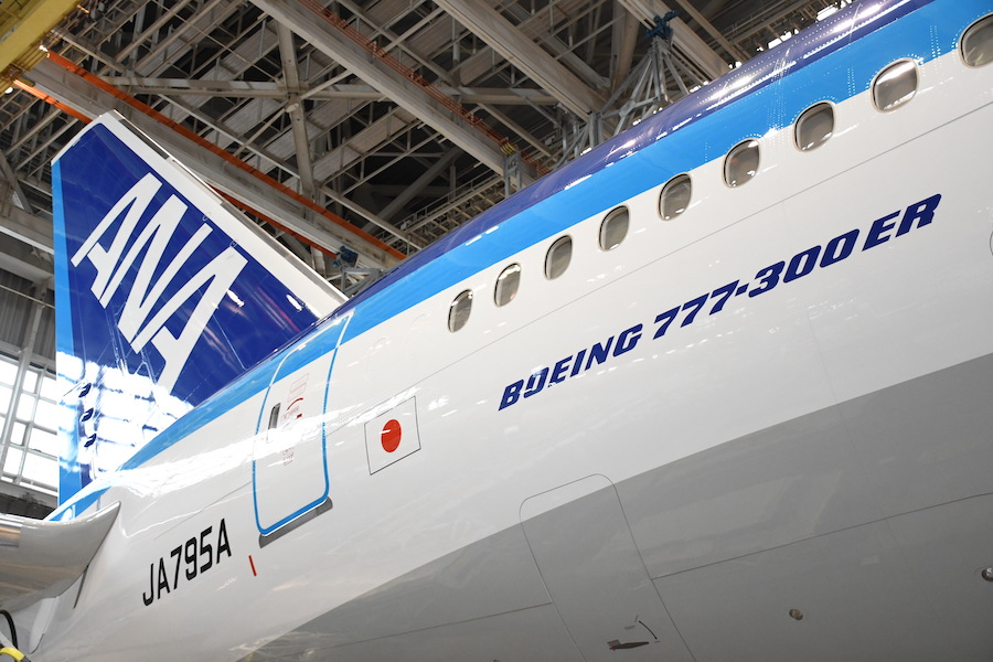 ANA 777-300ER JA795A
