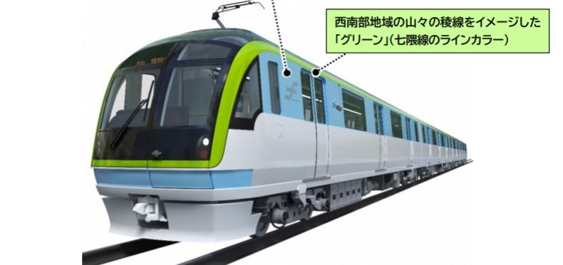 七隈線3000A系