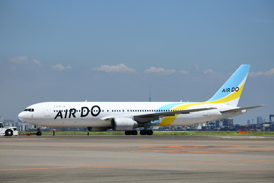エア・ドゥ(ボーイング767-300ER型機)