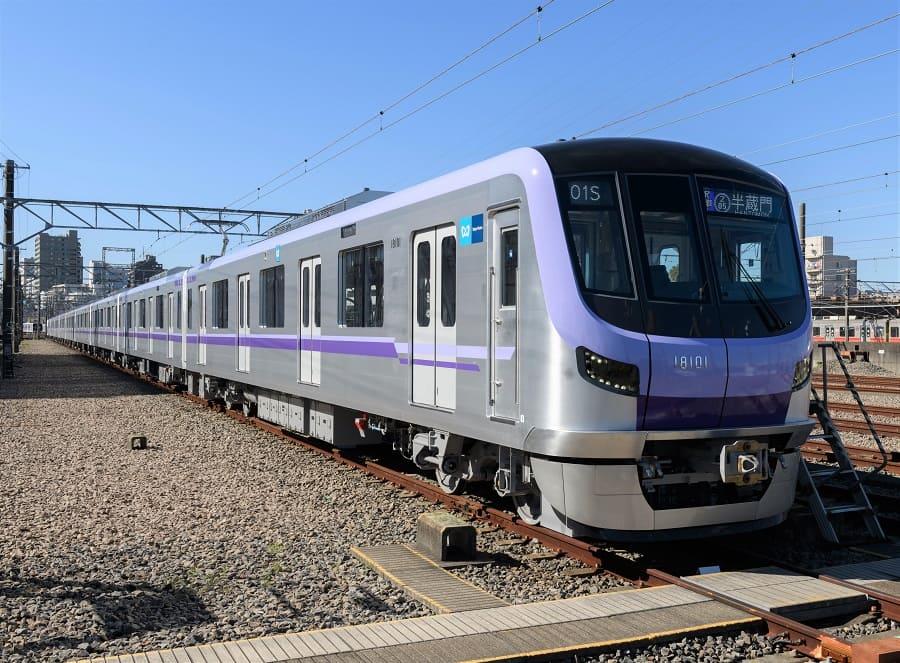 東京メトロ 半蔵門線 18000系
