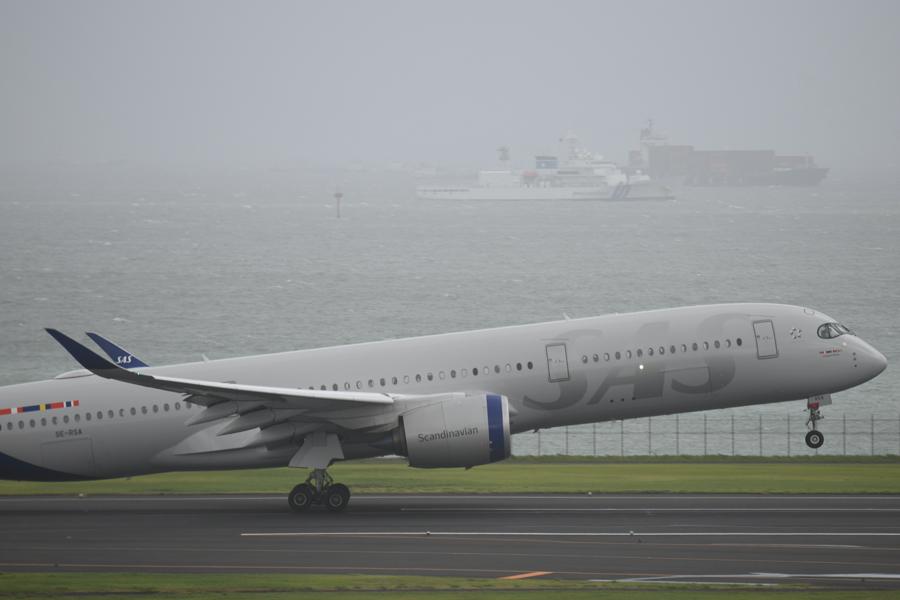 スカンジナビア航空(エアバスA350-900型機)