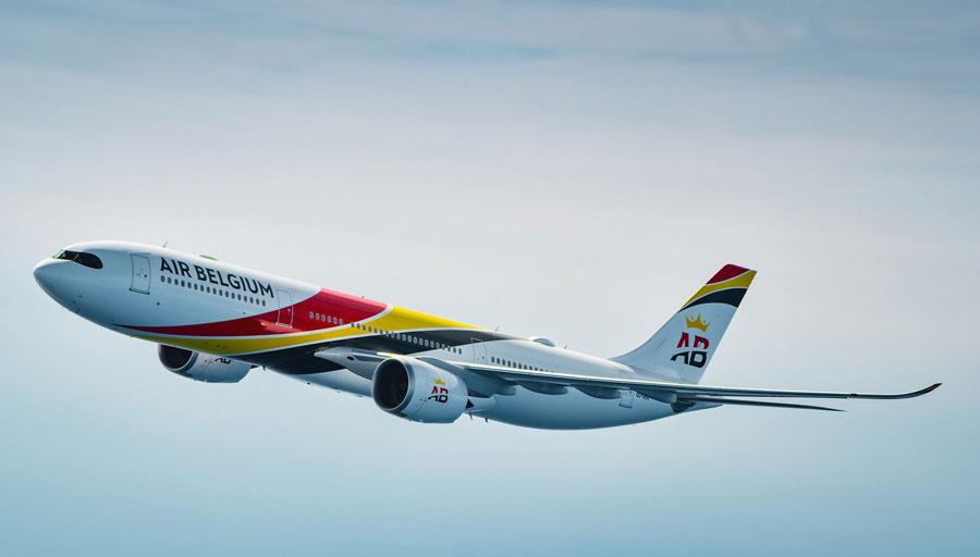 エア・ベルギー(エアバスA330-900neo)