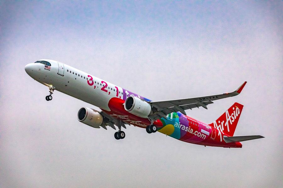 エアアジア(エアバスA321neo)